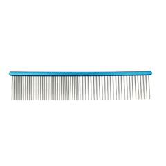 Гребень Frosted Combination Comb Prestige Groomers, 16 см Синий