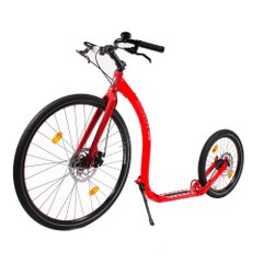 Скутер (самокат) Kickbike Safari, red