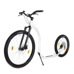 Скутер (самокат) Kickbike Cross FIX white