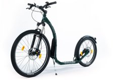 Скутер (самокат) Kickbike Cross MAX 20HD green dark