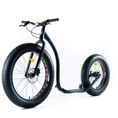 Скутер (самокат) Kickbike Fat MAX black
