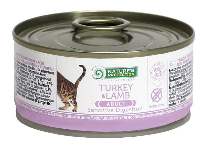 Nature's Protection SENSITIVE DIGESTION TURKEY & LAMB