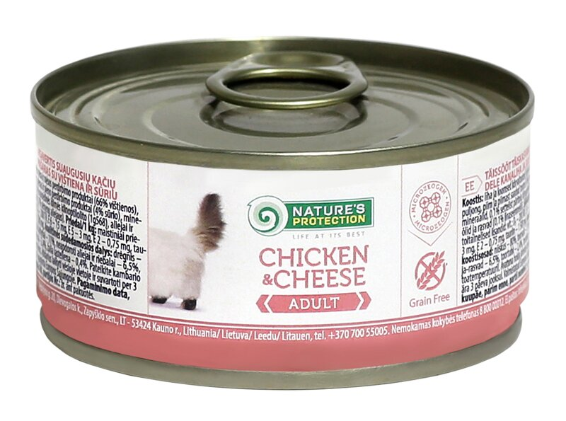 NATURE'S PROTECTION ADULT CHICKEN & CHEESE