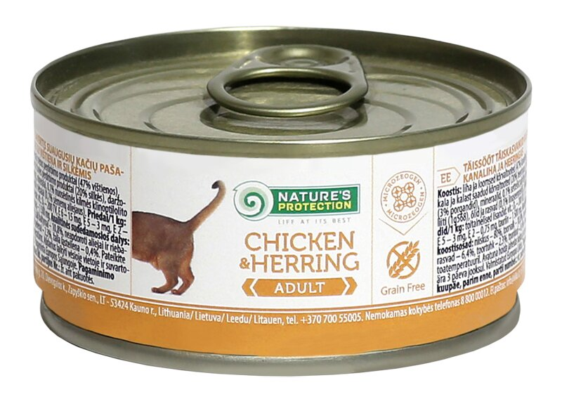 NATURE'S PROTECTION ADULT CHICKEN & HERRING